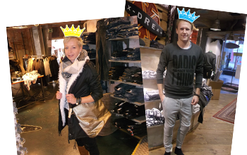 Shopping Queen and King